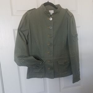Urban outfitters Army green Fitted Jacket Blazer